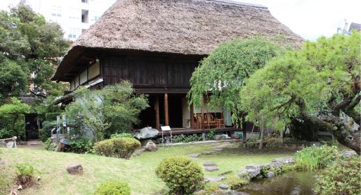 「武家蔵(旧新宮家)庭園」 写真3