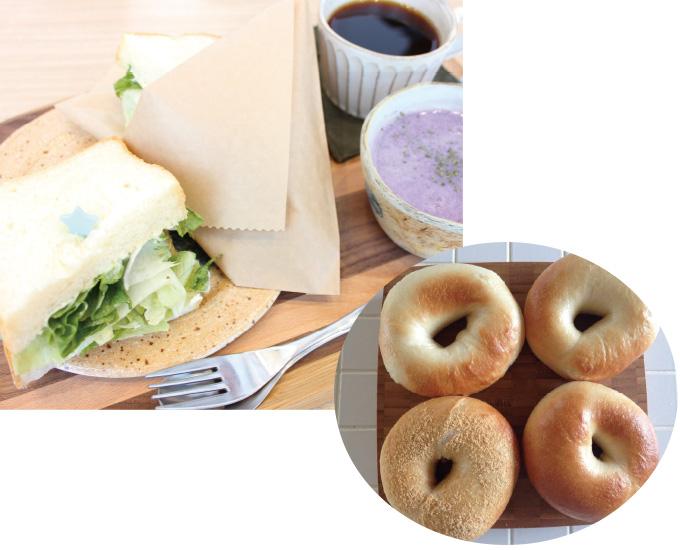 Cafe kiitos カフェ キートス 新富町総合交流センター『きらり』内