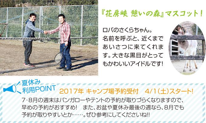 都城圏域特集 「花房峡 憩いの森 キャンプ場」イメージ3