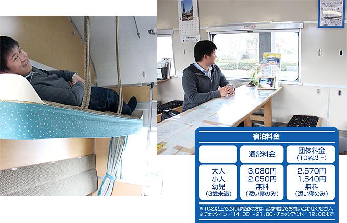 人吉市&球磨郡特集「簡易宿泊施設 ブルートレインたらぎ」イメージ2