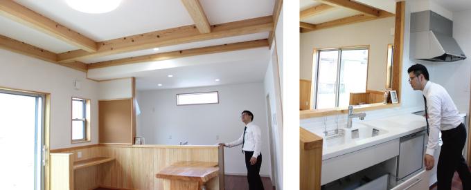 スタッフ建もの探訪 夏の住宅特集『新留木材』
